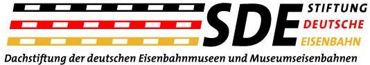 Logo Stiftung Deutsche Eisenbahn