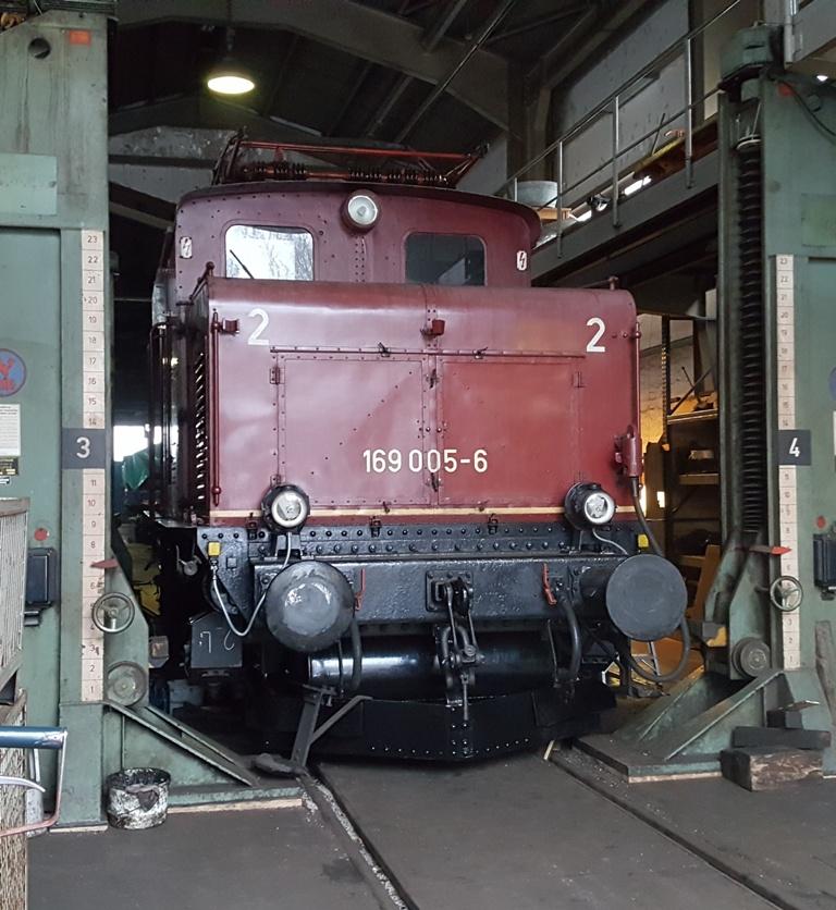 E 69 005 in Landshut