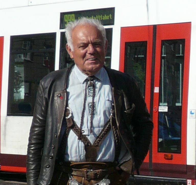 Dieter Junker, wie ihn viele Eisenbahnfreunde kannten