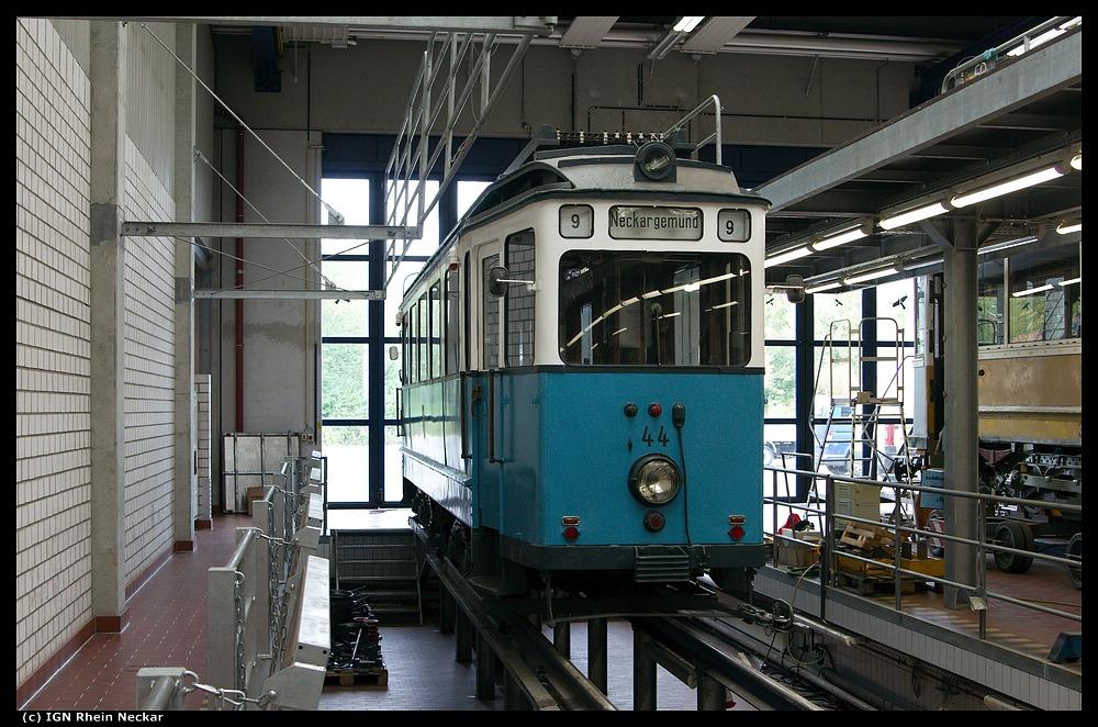 Der Tw 44 in Heidelberg